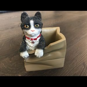 House pets Ltd -Esther the cat in the bag figurine